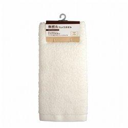 [Face/Bath towels] No.142891 / Non-twisting washcloth ivory 32 * 73cm