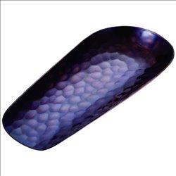 [新光金属株式会社] No.174903 / 純銅紫被仕上げ 槌目茶箕