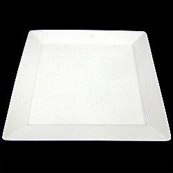 [皿類(陶器)] No.136933 / #ブランカ スクエアプレートM(16.8*16.8*1.3cm)