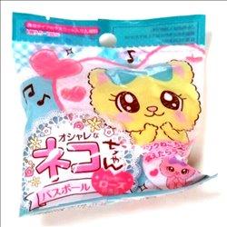 [入浴剤] No.175846 / ネコちゃんバスボール ローズの香り