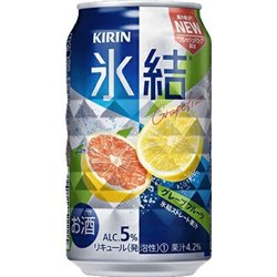 [Alcohol] No.167935 / Kirin HYOKETSU Grape Fruit 350ml