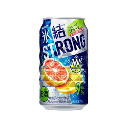 [Alcohol] No.167937 / Kirin HYOKETSU Strong Grape Fruit 350ml
