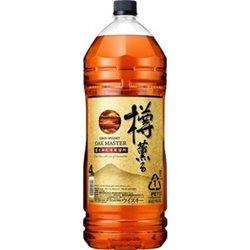 [アルコール飲料] No.204188 / キリン オークマスター 樽薫る 40度 4Lペット