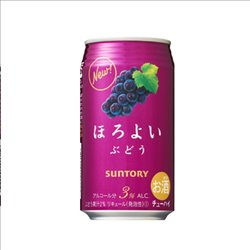[Alcohol] No.176919 / Chuhai Grape 350ml