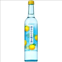 [アルコール飲料] No.170681 / サントリー 澄みわたる柚子酒 500ml