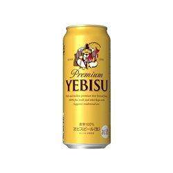 [アルコール飲料] No.168789 / サッポロ エビスビール 500ml
