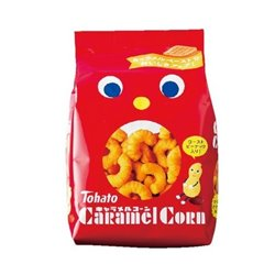 [Snack] No.153972 / Corn Snack (Caramel / 80g)