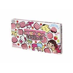 [チョコレート] No.154490 / 不二家 ペコ&サンリオいちごパーティーチョコレート 40g