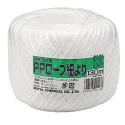 [紐] No.26123 / PPロープ細より玉巻130M