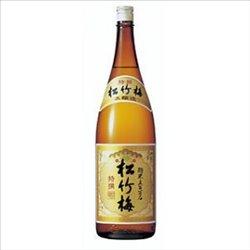 [アルコール飲料] No.175199 / 特撰松竹梅(本酒造)1.8L