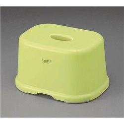 [浴用プラ] No.43556 / リーフ風呂いす(小) グリーン