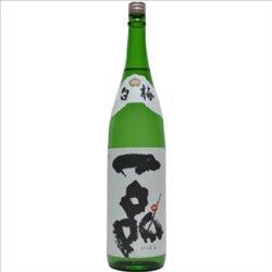 [アルコール飲料] No.173925 / 一品 本醸造 白梅 720ml