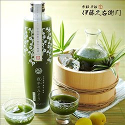 [アルコール飲料] No.161399 / 宇治抹茶×青谷の梅酒(夜半のみどり)500ml