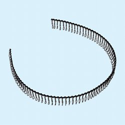 [Hair bands] No.138730 / Steel hair band (comb type) 30cm
