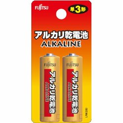 [電池] No.86209 / FDKアルカリ単3電池LR6H(2本)