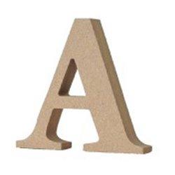 [置物類] No.149530 / アルファベットレター A