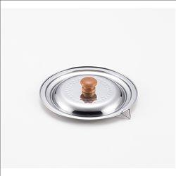 [調理器具] No.174910 / ステンレス雪平鍋兼用蓋16cm・18cm