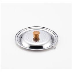 [調理器具] No.174914 / ステンレス雪平鍋兼用蓋18cm・20cm