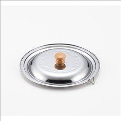 [調理器具] No.174918 / ステンレス雪平鍋兼用蓋20cm・22cm