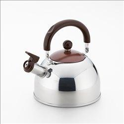 [調理器具] No.174949 / ショコラ 笛吹きケトル ブラウン1.8L