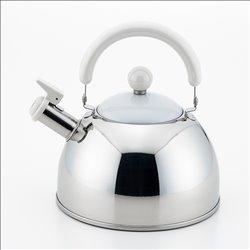 [調理器具] No.174952 / ショコラ 笛吹きケトル ホワイト2.5L
