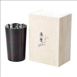 [コップ] No.174849 / 2重焼酎カップ(1客)曙塗り